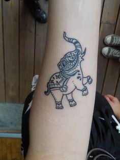 elephant tattoo | Tumblr ~ cool -- needs to be smaller though