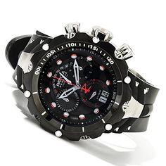 Invicta Reserve Mens Venom Gen II Swiss Made Quartz Chronograph Strap Watch w/ Dive Case $271.23 clearance