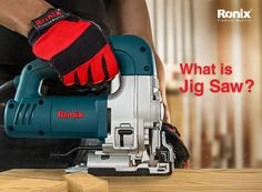 what is jigsaw ? Jigsaws are among widely used tools in carpentry. By using a jig saw, complex patterns could be drawn and carved on the desired surface. This kind of tools are divided in two sections; Industrial and Semi-Industrial. Industrial jig saw has a gearbox system that can do its job in a long period and under a lot of pressure thanks to its gear which is located on the front side of the device. Semi-Industrial jig saws were designed for the semi-professional users working in different Used Tools, Power Tools, Carpentry, Carving, Period, Advertising, Industrial, Surface, Patterns