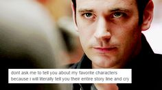 Endless Tommy Merlyn Feels. The character I hated, then liked, then loved, then disliked, then loved again