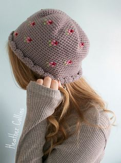 Maggie Hat by PinkMilkCrochet - purchase on Etsy