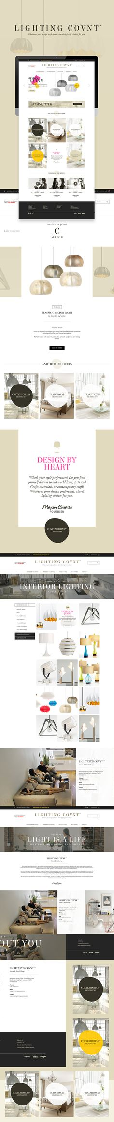 Lighting Count™  is a store and lightning workshop.