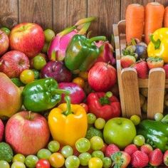Slim without sport: fruits and vegetables on day - Marlyse - - Slim without sport: fruits and vegetables on day - Marlyse Detox Drinks, Fruits And Vegetables, Finger Foods, Food And Drink, Keto, Nutrition, Stuffed Peppers, Healthy, Low Carb