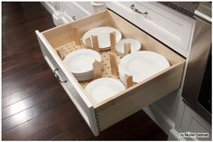 Kitchen Cabinet - Pot Drawer - Pegboard Spacers