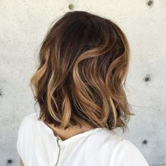 Lob with balayage