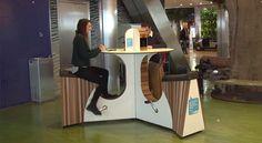 L'aéroport d'Amsterdam propose de recharger son smartphone en pédalant - http://hellobiz.fr/laeroport-damsterdam-propose-recharger-smartphone-en-pedalant/