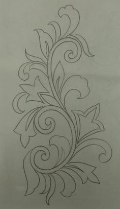 Hand Embroidery Design Patterns, Hand Embroidery Videos, Hand Work Embroidery, Embroidery Flowers Pattern, Embroidery Motifs, Beaded Embroidery, Fabric Paint Designs, Motifs Perler, Fabric Painting