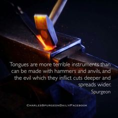 christian quotes | Charles Spurgeon quotes | tongue