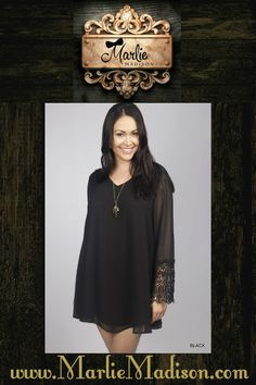 Heart of a Hippie in Black http://www.marliemadison.com/dresses/short/heart-of-hippie