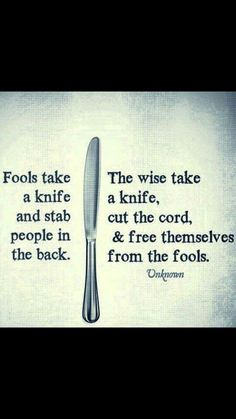 Cut them fools free!