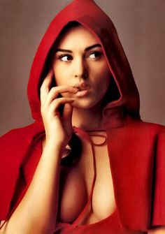 Little Red Monica Bellucci