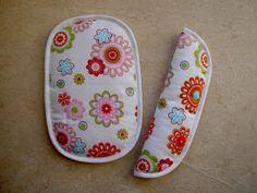Der BastelVIP: Gurtpolster für den Kinderwagen nähen