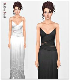 Dress 61-I by Irida - Sims 3 Downloads CC Caboodle