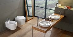 scarabeo_wash_basins4 Bathroom, Decor, Furniture, Home, Round Mirror Bathroom, Mirror, Bathroom Mirror, Home Decor