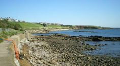 Crail (Roome Bay) beach at Crail, Fife | Good Beach Guide    Stay nearby on holiday at Sandcastle Cottage, Crail http://www.2crail.com