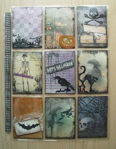Utes kreative Seite: Pocket Letter No. 25 - Halloween