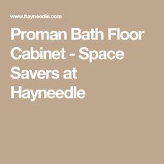 Belham Living Longbourn Narrow Bath Cabinet - Space Savers at ...