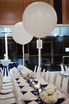 Legare Waring House Wedding   The Wedding Row   Navy and White wedding   Amelia and Dan photography   balloons