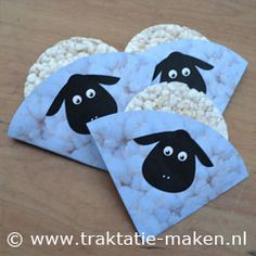 Afbeelding van de traktatie Schaapje Birthday Treats, Party Treats, Eid Cake, Islamic Celebrations, Food Fantasy, Party Gift Bags, Childrens Party, Baby Shower, Creative Food