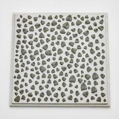 Hannah Wilke - Artist - Andrea Rosen Gallery, needed-erase-her, 1974, kneaded erasers on painted board