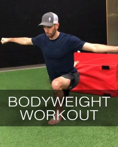 Try this 50 minute full body bodyweight workout that you can do at home, no equipment required. Includes warmup, mobility work, strength, conditioning and stretch, taught by Human 2.0 coach Dan Jones. #athomeworkout #homeworkout #strengthtraining #bodyweightworkout #bodyweightstrength Full Body Bodyweight Workout, Gym Workout Videos, Best Cardio Workout, Gym Workouts, At Home Workouts, Workout Fitness, Preparation Physique, Body Weight Training, Flexibility Workout