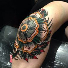 Mandala Tatto by Luke Jinks on elbow