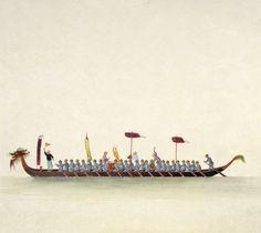 Dragon Boat (V&A Custom Print)