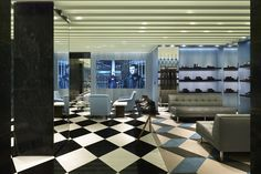 Prada flagship store Copenhagen  Denmark
