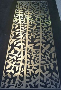 metal laser cut screens - Google Search