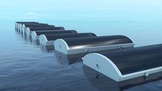 "Floating ""Solar Cucumbers"" Form Artificial Reefs That Desalinate Sea Water (Video) : TreeHugger"