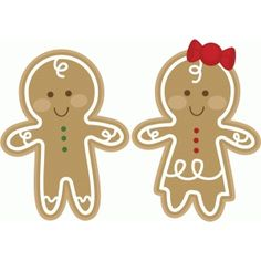 #51720: gingerbread couple