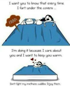 ˚°◦ღ... methane cuddles... hahahahaha!!!