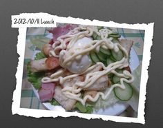 For Lunch on 11/Oct/2012