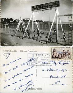 Saint-Cast - Club des Pingouins - 1957 (from http://mercipourlacarte.com/picture?/1024) Éditions Cim, Combier Imprimeur Mâcon - Photo Combier, Mâcon (S.-et-L.)