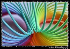 Abstract Photography - good ol slinky