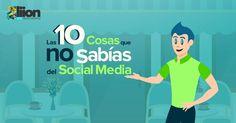 """""""Las 10 cosas que no sabías del Social Media"""" on Behance"""