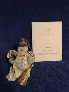 A personal favorite from my Etsy shop https://www.etsy.com/listing/522124101/lenox-ornament-chilly-christmas