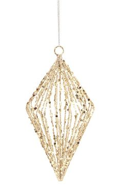 MELROSE GIFTS Glitter Ornament available at #Nordstrom