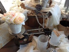 What is it about old scales??  I just love them!  Available at The Shops at 101, 101 S Saginaw St, Holly MI