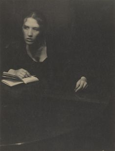 """1899. Platinum print, 7 11/16 x 5 5/16"""" (19.5 x 15.0 cm). Gift of Mr. and Mrs. Clarence H. White, Jr., 1971"""