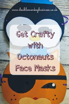 We are making Octonauts face masks over on the blog! Come and join us and I will talk you through how we did it.