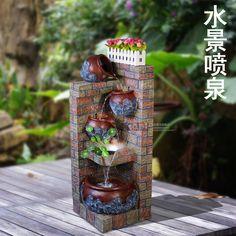 Arquitectura de casas estanques espejos de agua y - Fuente decoracion interior ...