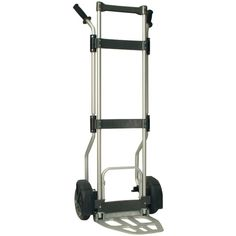 Portable, foldable hand truck Lightweight aluminum construction Folds flat for easy storage Lightweight alternative to heavier steel hand trucksMonster Trucks Tuff Maxx Foldable Hand Truck Nose plate Dimension - 12 W x 13 D in.