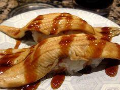 anago Kinds Of Sushi, Chicken, Meat, Food, Essen, Meals, Yemek, Eten, Cubs