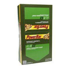 I'm learning all about PowerBar Harvest Whole Grain Long Lasting Energy Bars Apple Cinnamon Crisp at @Influenster!
