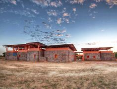 Falatow Jigiyaso Orphanage, F8 Architecture, green design, Mali, sustainable design, H blocks, hybrid construction system, Malian green buil...