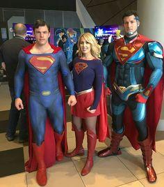 Superman cosplay Dc Cosplay, Superman Cosplay, Superman Costumes, Superhero Cosplay, Male Cosplay, Best Cosplay, Cosplay Girls, Superman Suit, Supergirl Superman