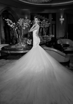 Galia Lahav Fall 2015 Wedding Dresses — Tales of the Jazz Age Bridal Collection… 2015 Wedding Dresses, Formal Dresses For Weddings, Wedding Dress Sizes, Formal Wedding, Bridal Dresses, Wedding Gowns, Bridesmaid Dresses, Wedding Ceremony, Backless Wedding