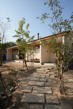 Japanese Modern House, Small House Design, Backyard Projects, Landscape Design, My House, Architecture Design, House Plans, Exterior, Outdoor Decor
