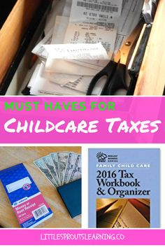 There are a few things that can make tax time easier for a childcare provider. Childcare taxes are complicated, but you can do them if you have a few tools.